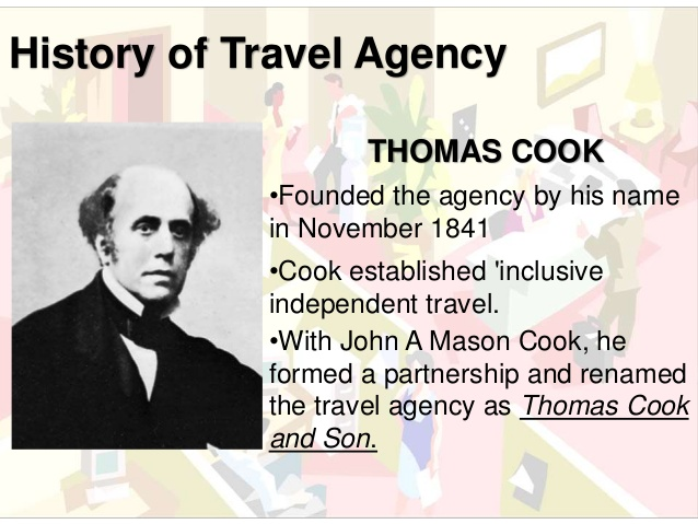 History Of Travel Agency Thomas Cook