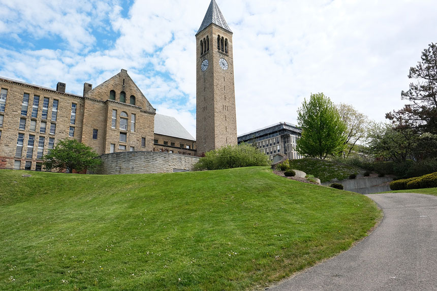Cornell University in Ithaca, New York